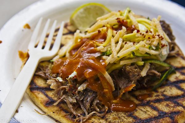 Street Food Aziza Moroccan Tacos