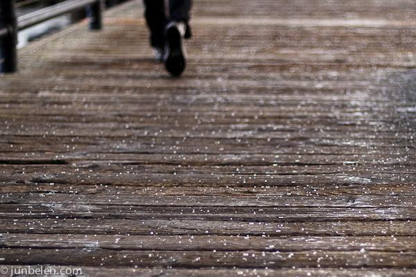 Hail in San Francsico