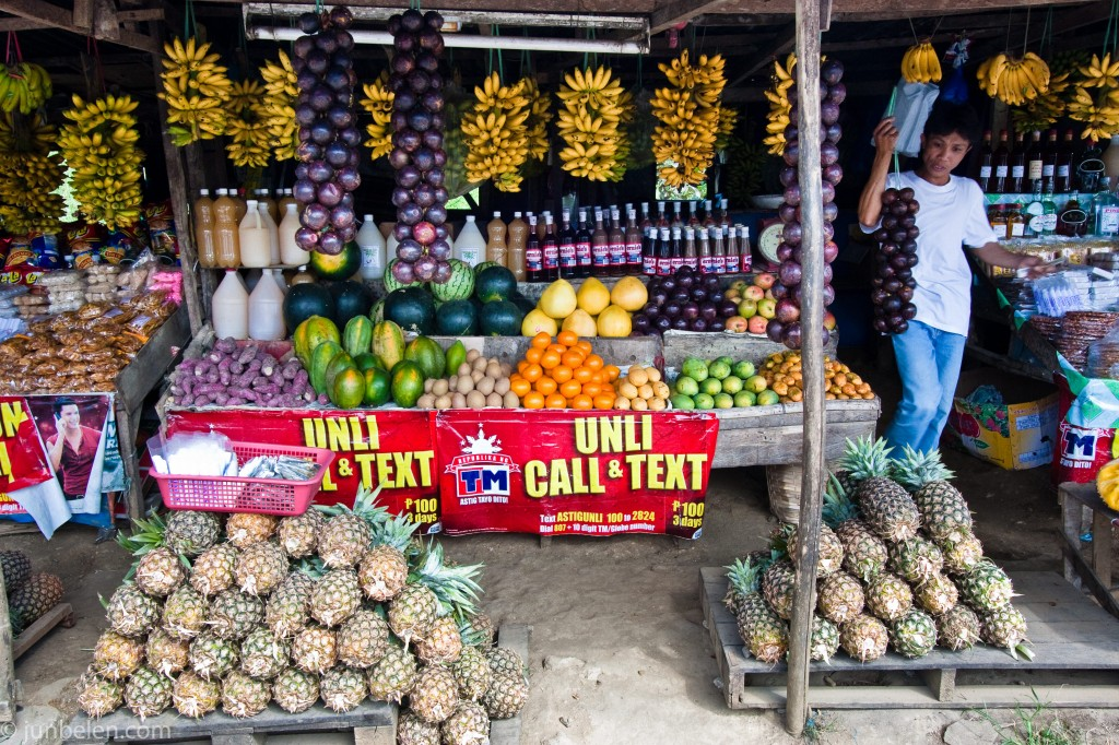 Roadside Filipino Fruit Stands