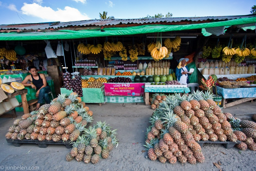 Filipino Roadside Fruit Stands