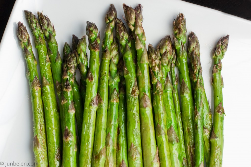 Grilled Asparagus with...