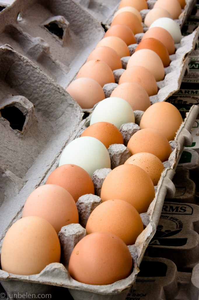 Farmers' Market Eggs