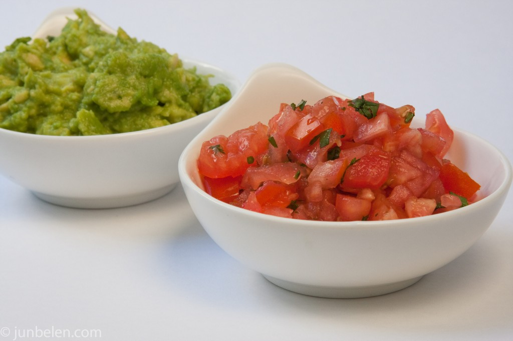 Pico de Gallo and Guacamole