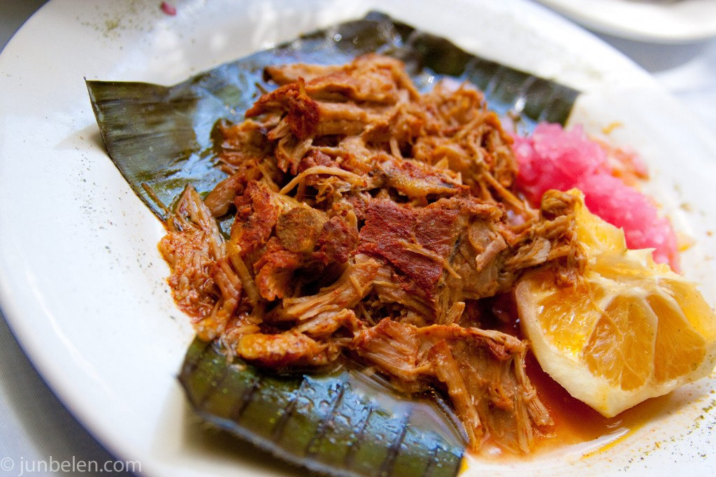 Cochinita Pibil in Valladolid