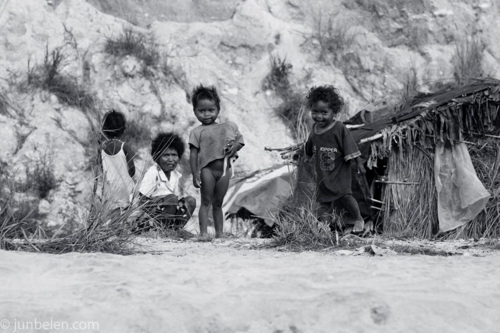Pinatubo Trek Aeta Family