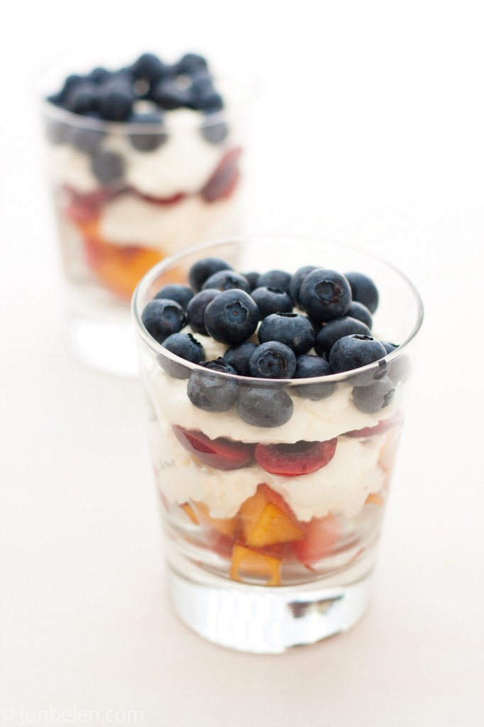 Fruit Salad with Creme Fraiche