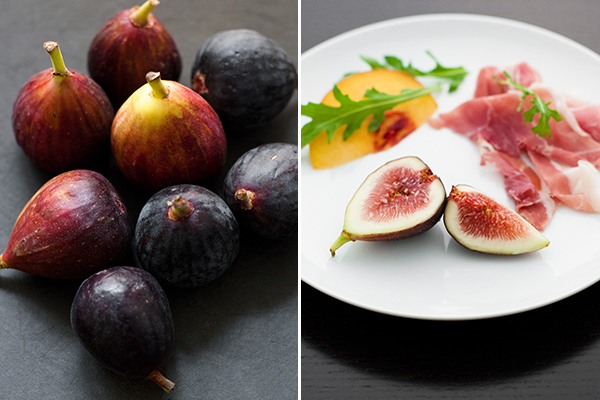 Figs, Peaches, and Prosciutto
