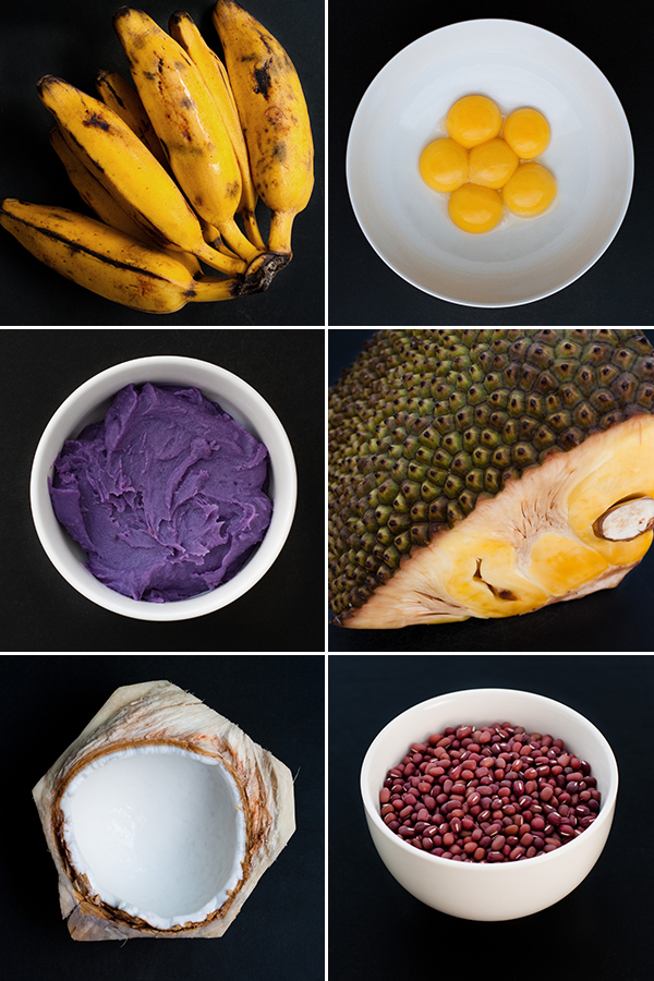 Halo-Halo Ingredients