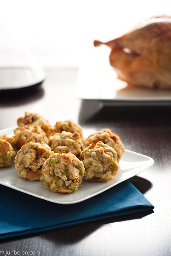 Thanksgiving Stuffing Balls