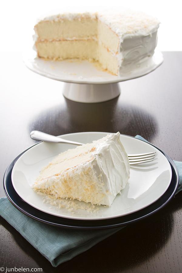Coconut Pandan Cake