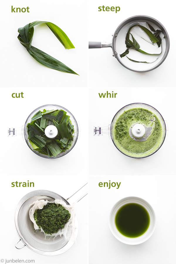 Learn how to cook with pandan leaves
