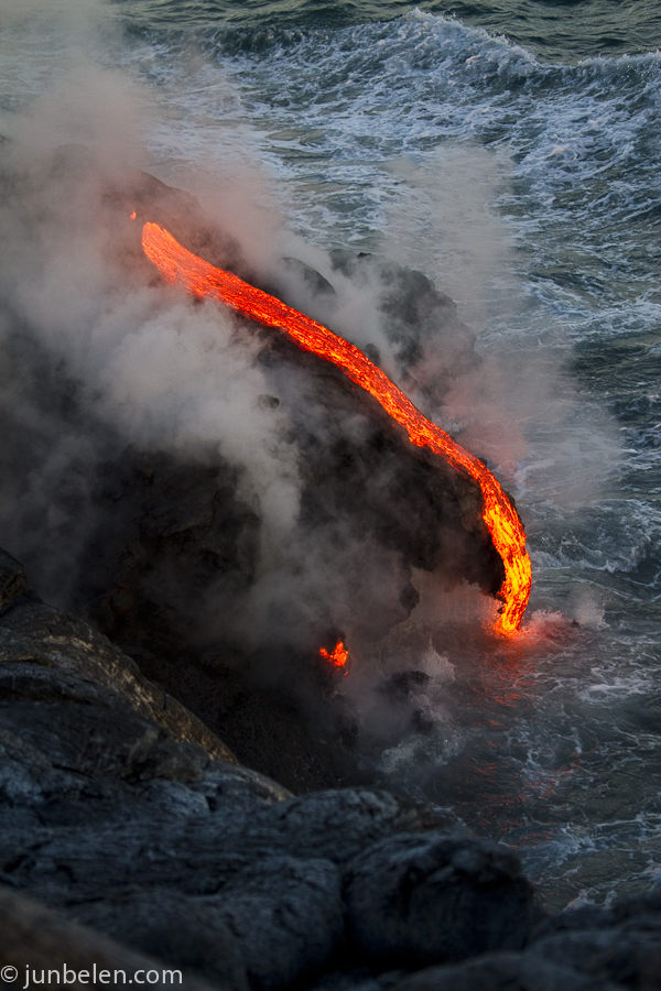 Kilauea Ocean Entry