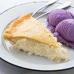 Buko Pie and Ube