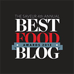 2013 Saveur Best Food Blog