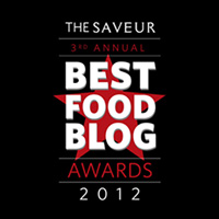 2012 Saveur Best Food Blog Awards Finalist