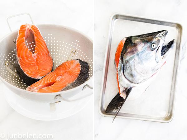 Salmon Sinigang sa Miso