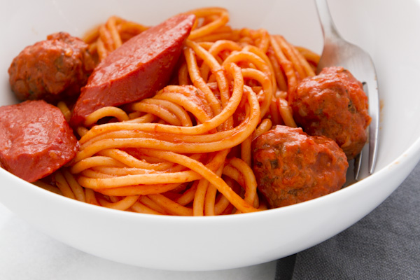How To Make Filipino Style Spaghetti With Meatballs Junblog