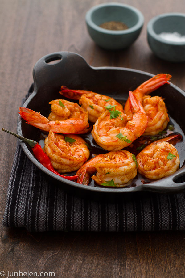 How To Make Gambas Al Ajillo Garlic Shrimp Junblog