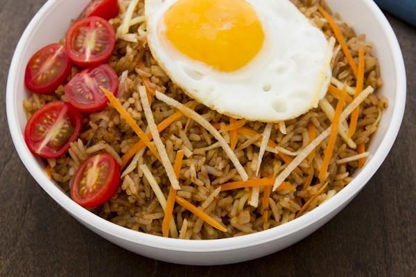Bagoong-Rice