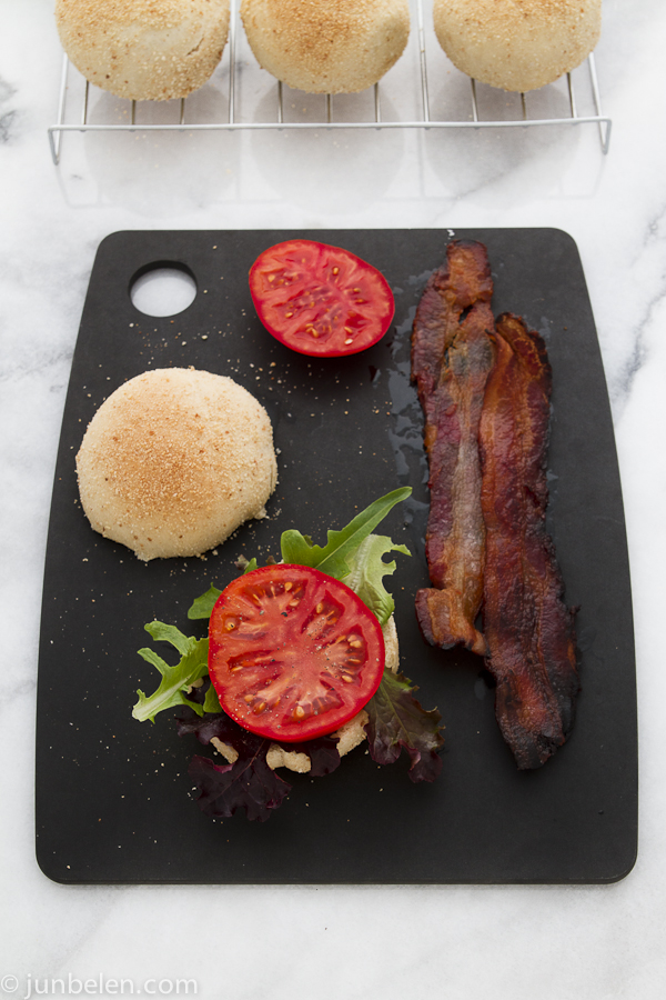 Bacon Lettuce and Tomato